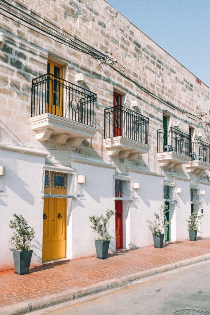 Amazing doors of Malta