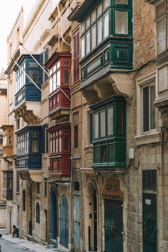 Steer view in Valletta Malta