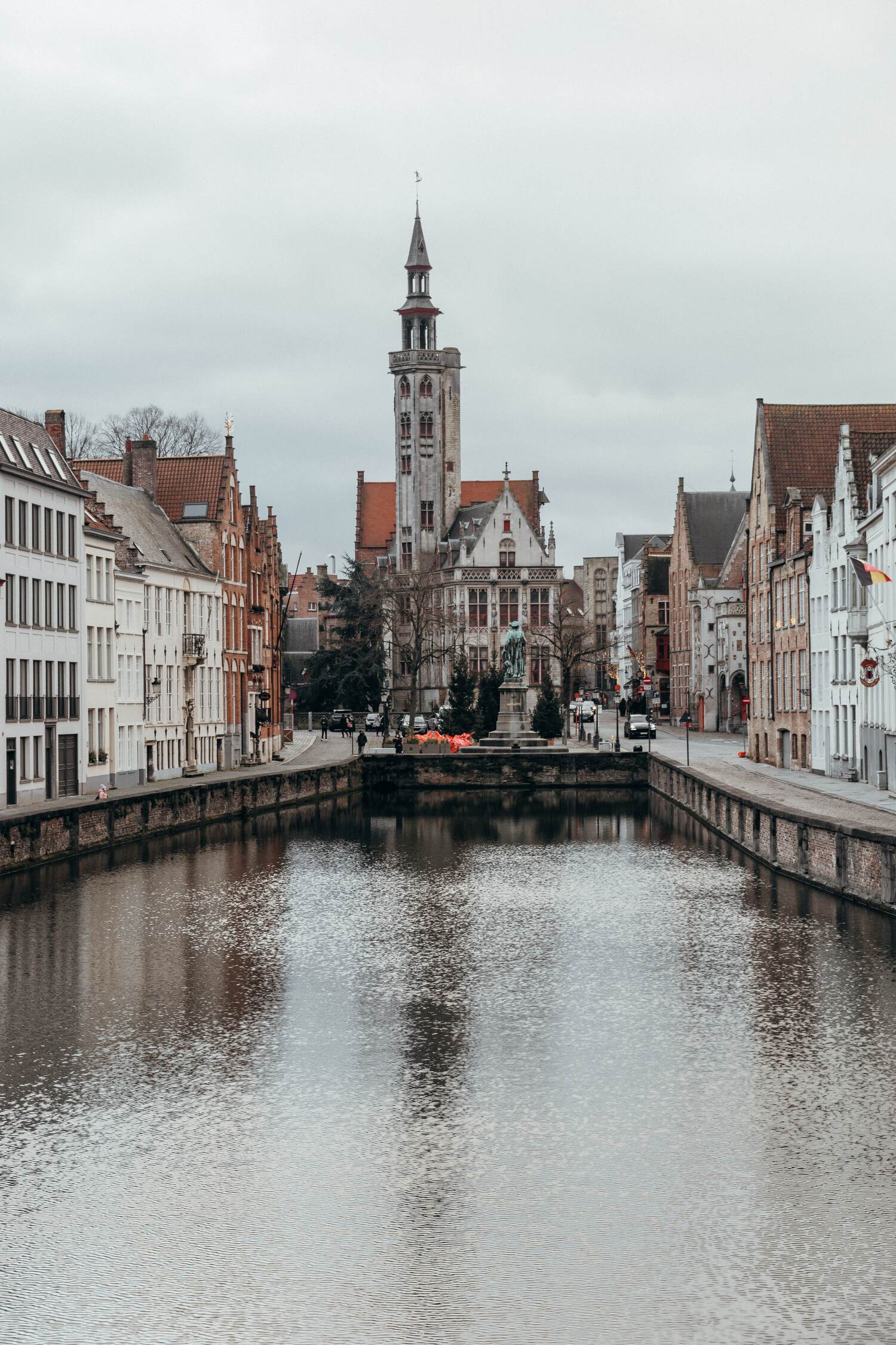 The canal views of Bruges must be explored during a weekend in bruges