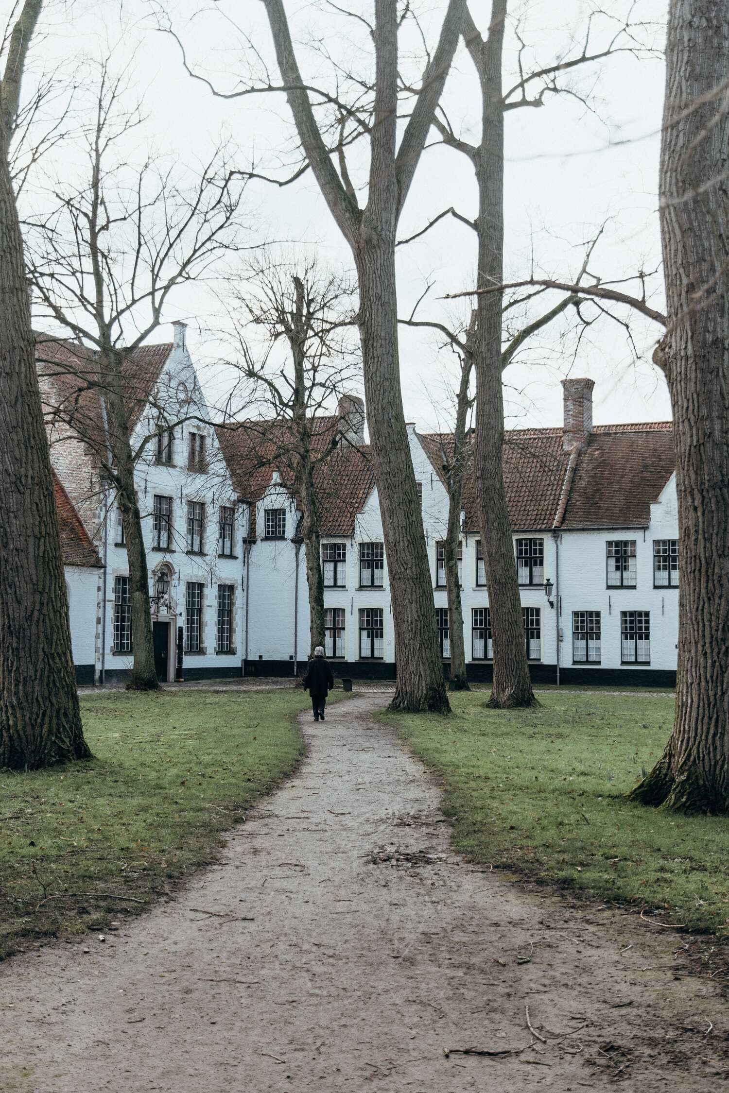 The Brugge Begijnhof is the home of the Bruges nuns and a must visit