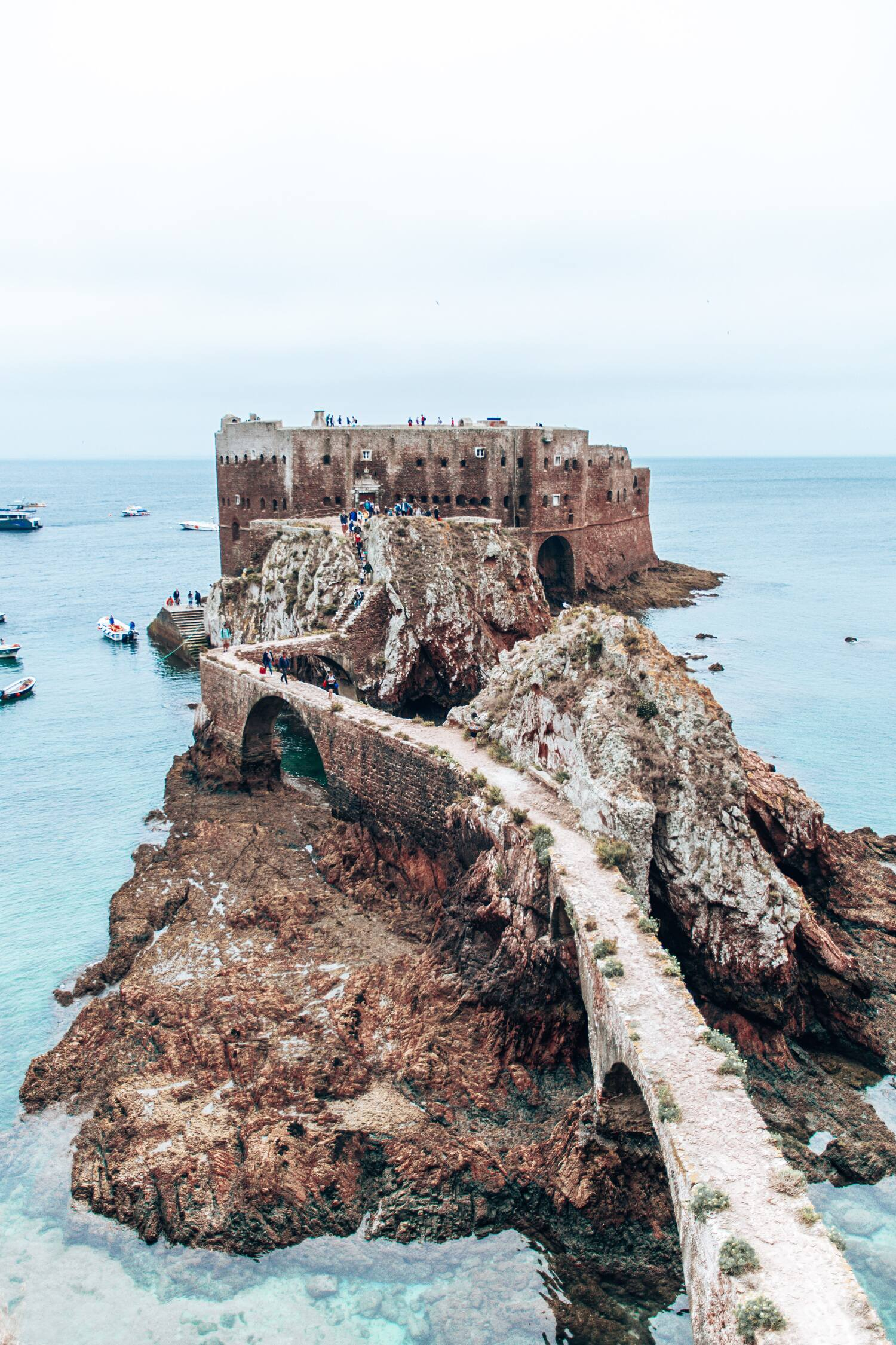 The Berlenga Island Fort, a must visit location when venturing on a Portugal road trip