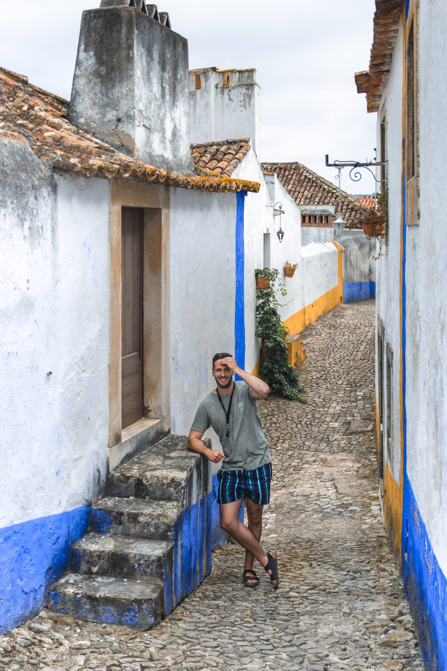 Obidos and it's cobble stoned streets is a must visit location when venturing on a Portugal road trip