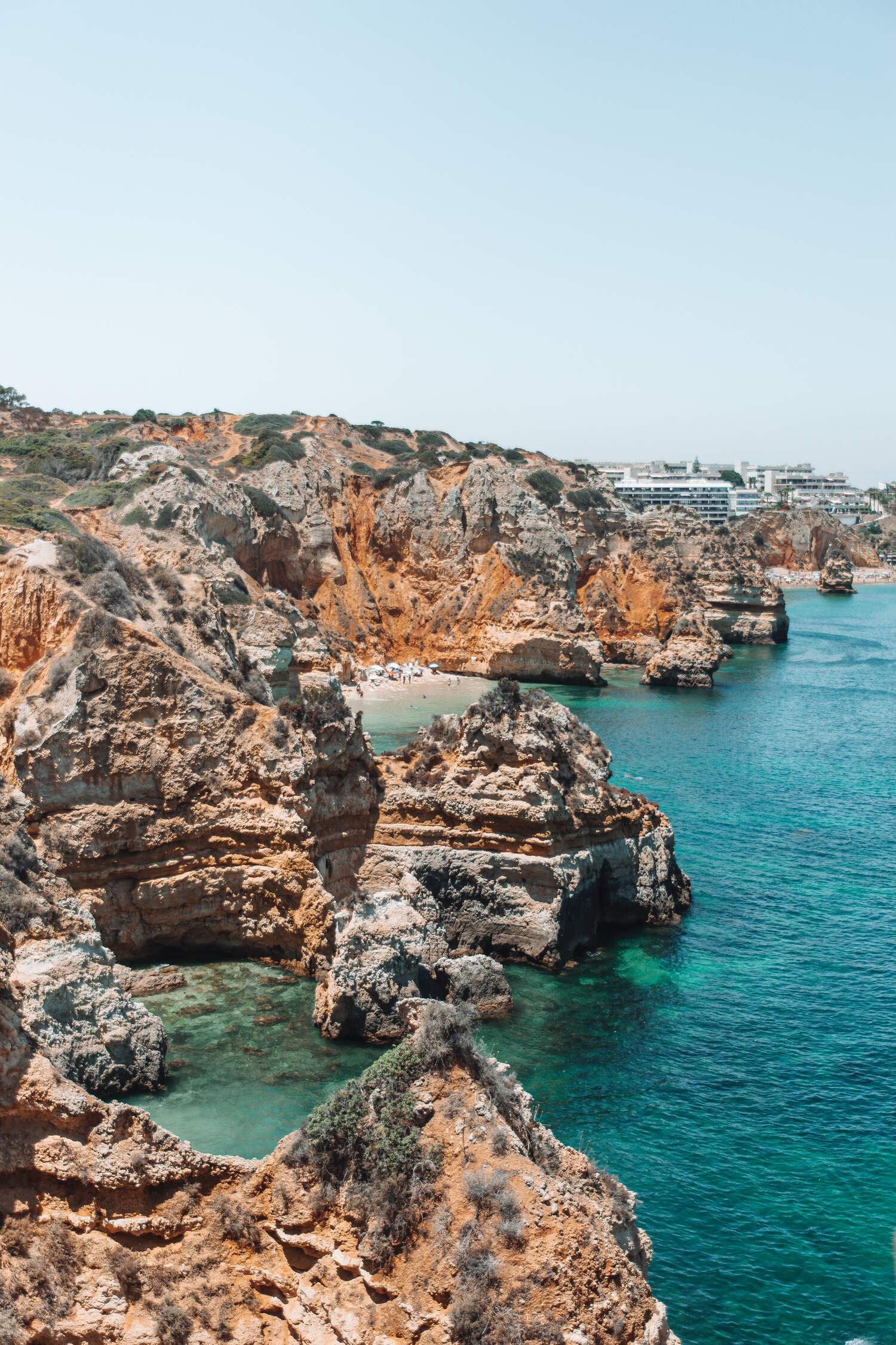 The algarve coast is a must visit location when venturing on a Portugal road trip