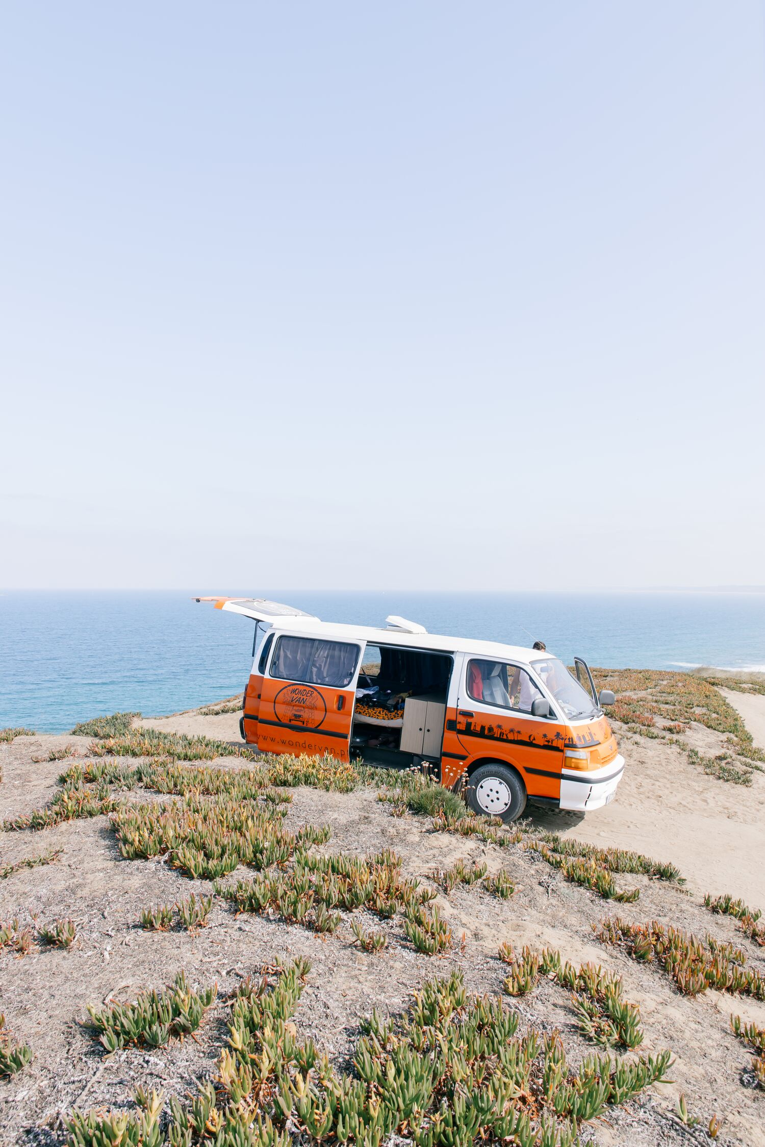 Travelling in a van is the best way to undertake a Portugal road trip