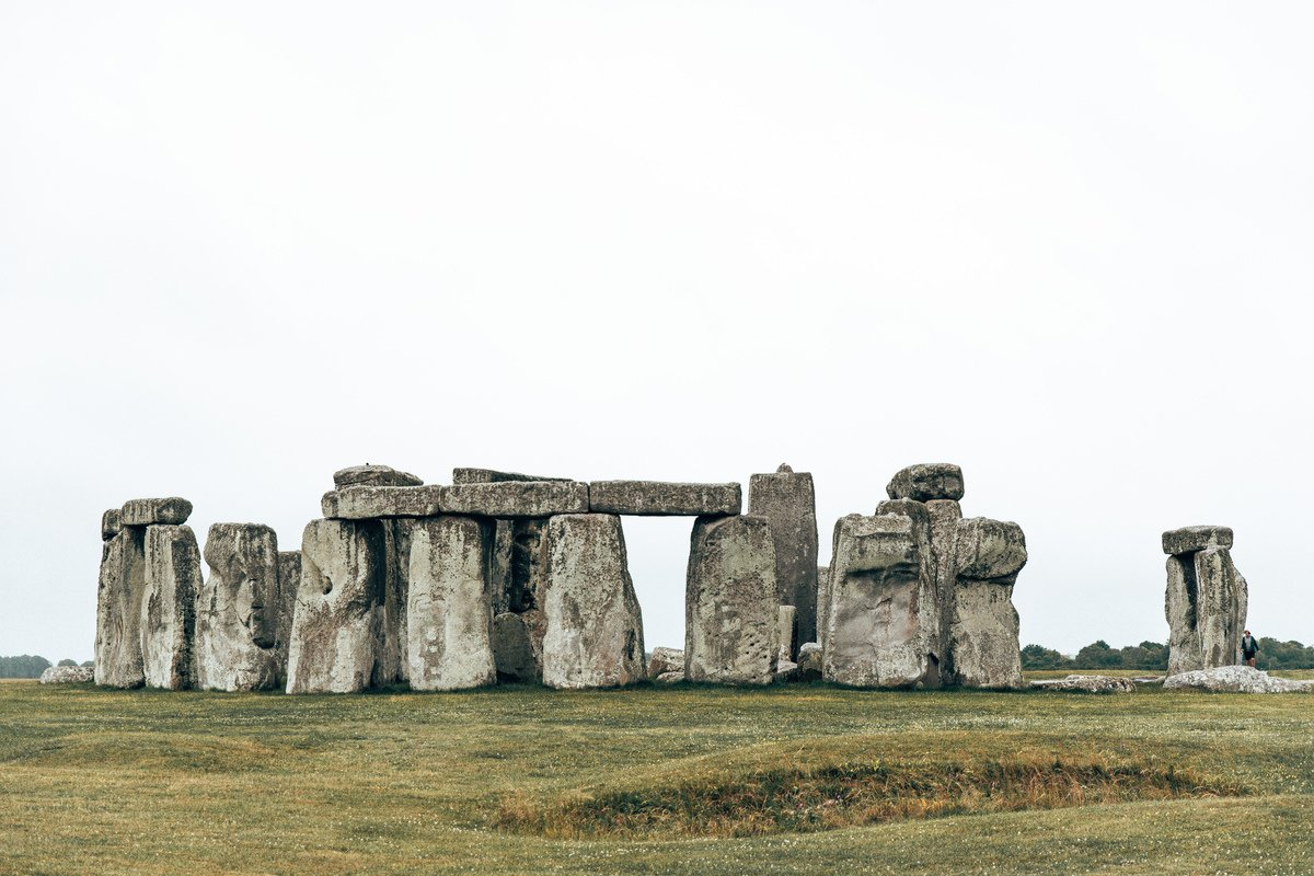 The view of stonehenge during a free visit